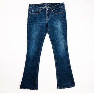 Women's American Eagle Jeans Skinny Kick Dark Wash